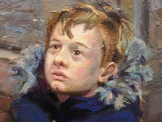 Timelaps portrettmaleri