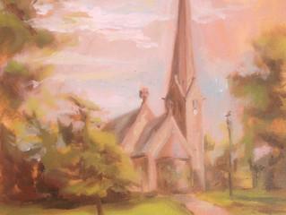 Vi Maler Vålerenga kirke