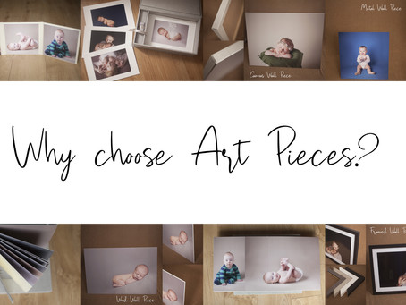 Why Choose Art Pieces? / Newmarket Newborn and Baby Photographer.