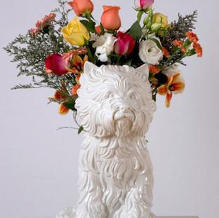 Puppy Vase
