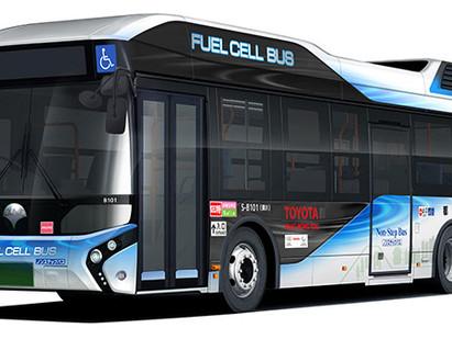 Toyota forneceu novos ônibus Fuel Cell para Governo Metropolitano de Tokyo