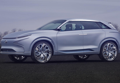 Hyundai esta construindo novo carro conceito com Célula a combustível.