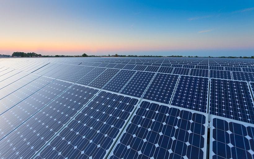 Usina solar fotovoltaica - UFV
