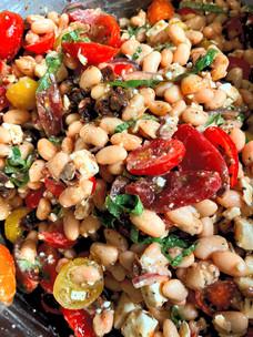 healthy five bean salad