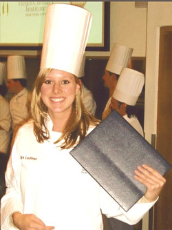 culinary school grad!