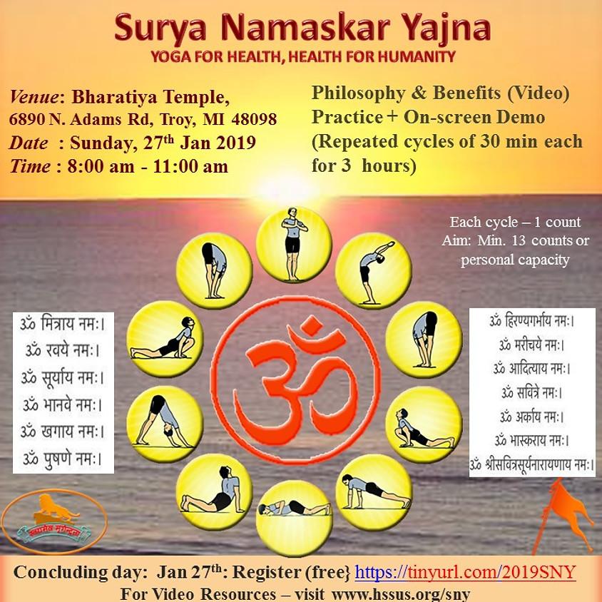 Surya Namaskar Yajna