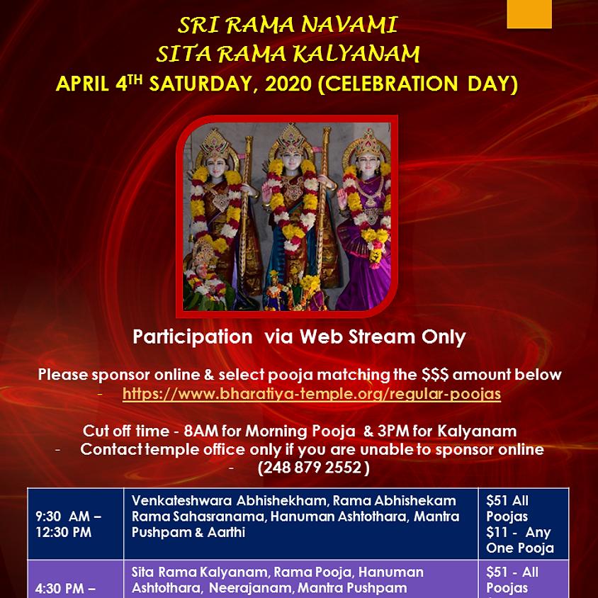 Sri Rama Navami - Sita Rama Kalyanam