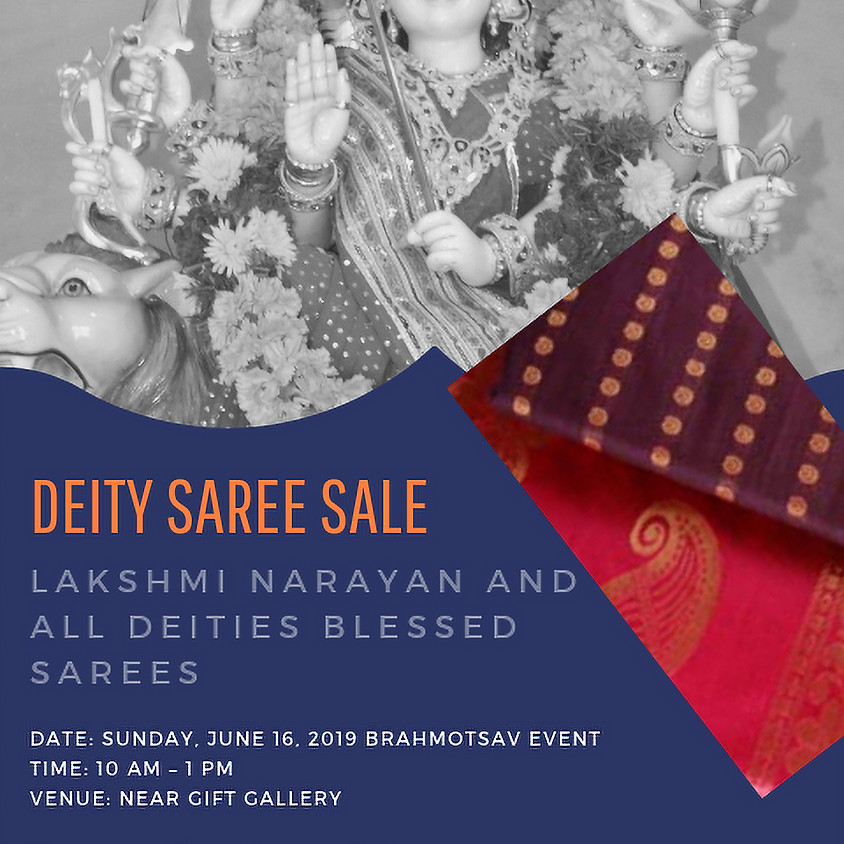 Deity Saree Sale