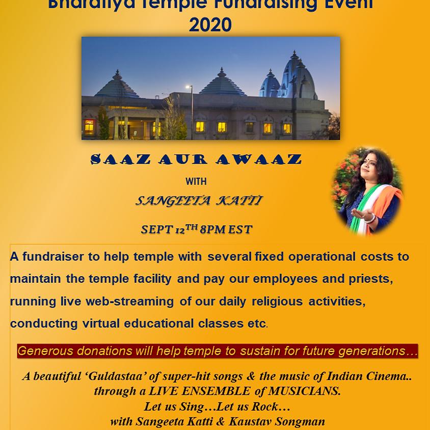 Temple Fundraising Pledge Form