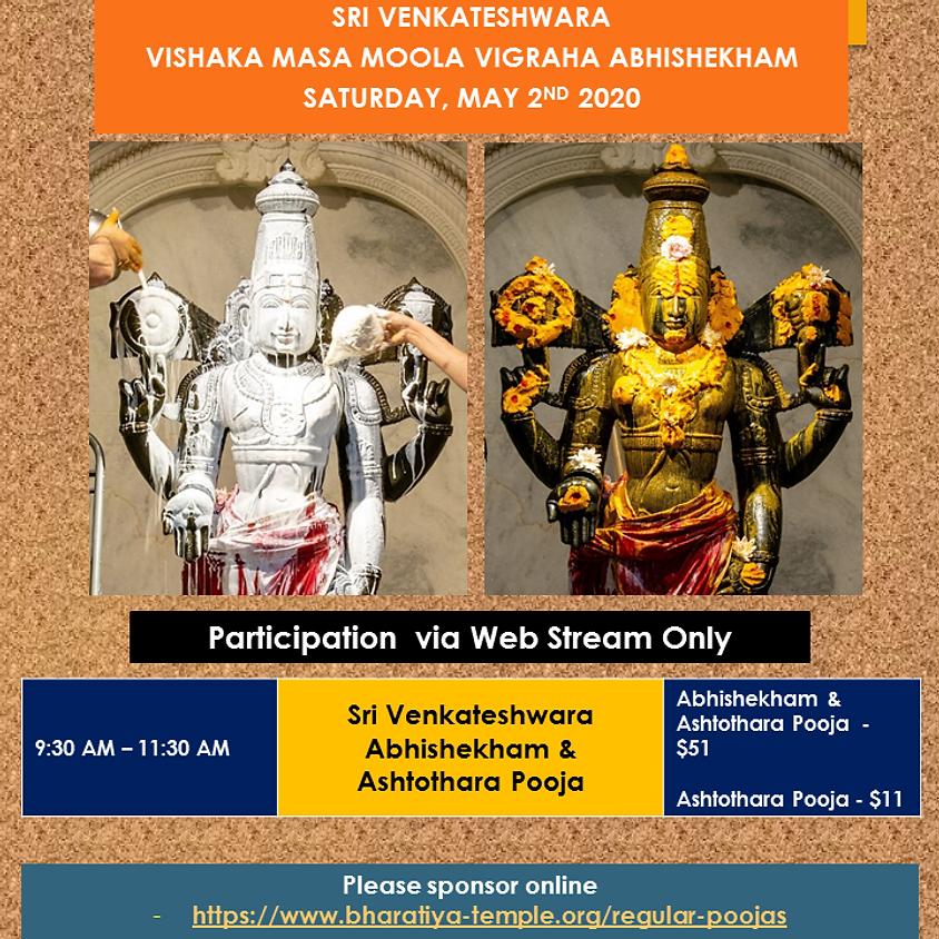 Sri Venkateswara Abhishekham & Ashothram