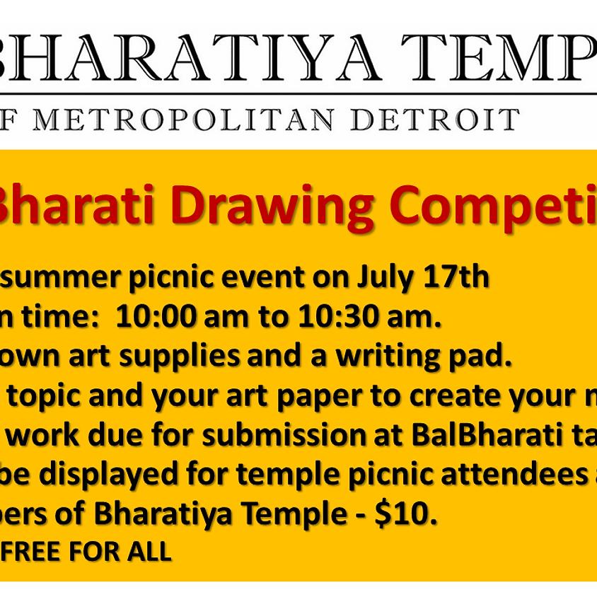 Blabharathi Drawing Competetion