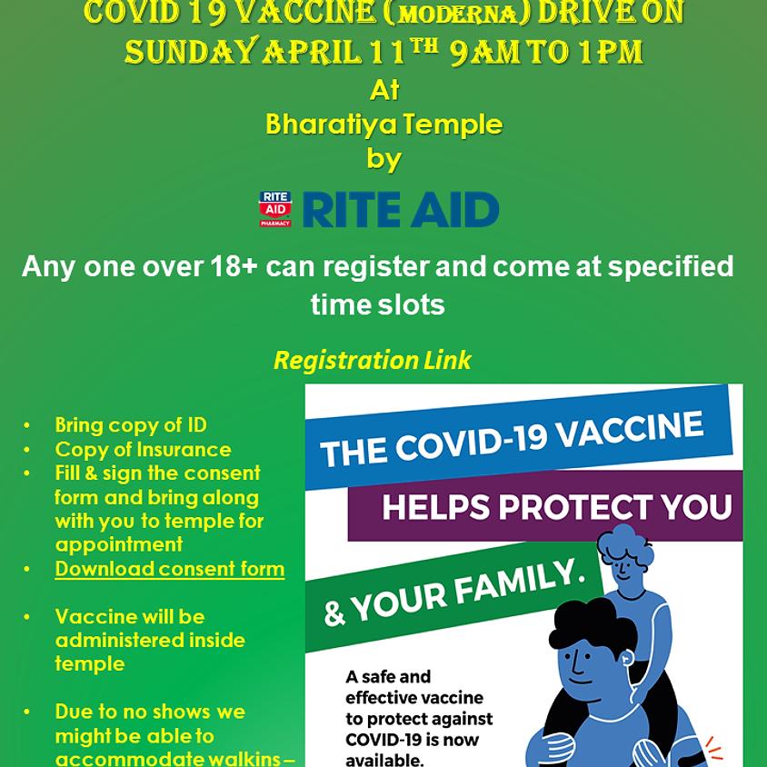 COVID 19 Vaccine Visitor Registration