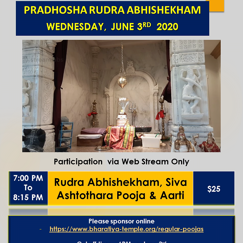 Rudra Abhishekam, Siva Ashtothra Puja