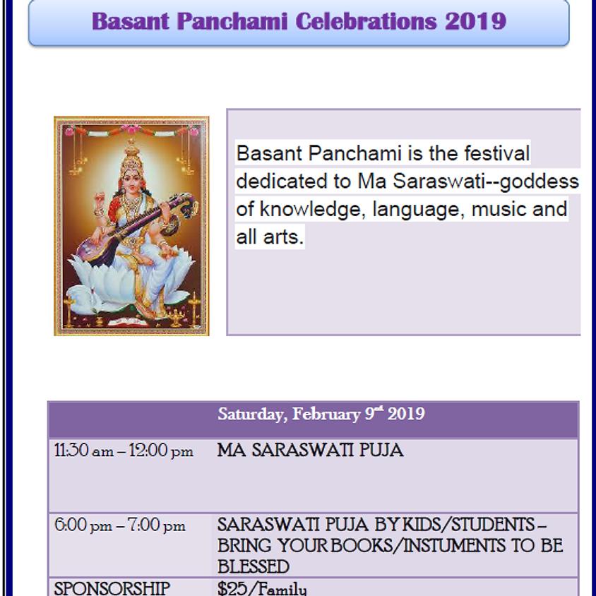 Basant Panchami Celebrations 2019
