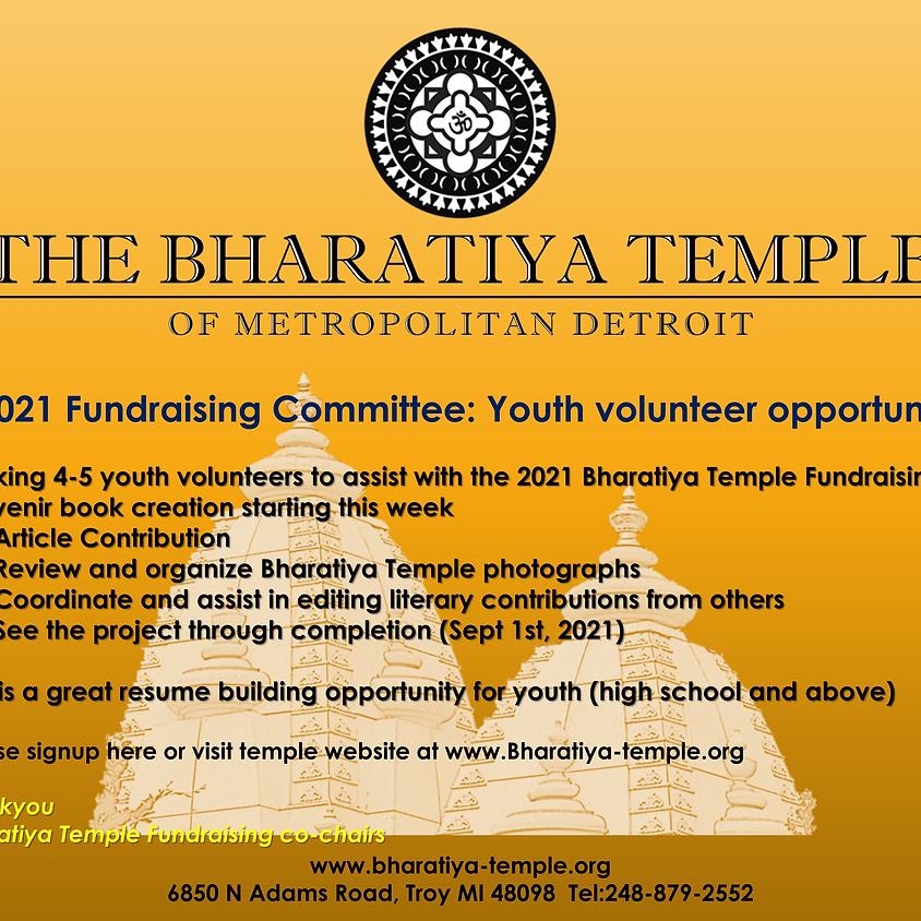 Fundraising event volunteers