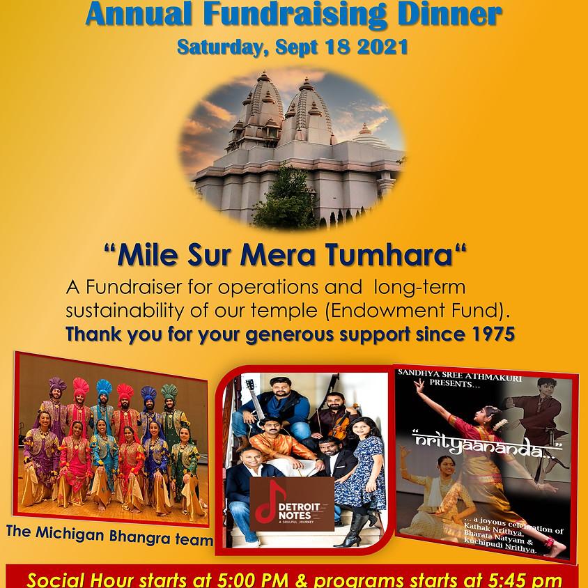 Annual Fundraising Dinner - 2021