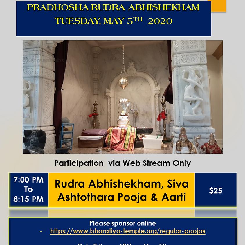 Pradosha Rudra Siva Abhishekham