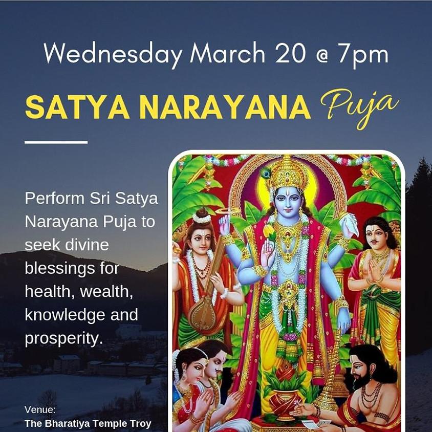 Sri Satyanarayana puja