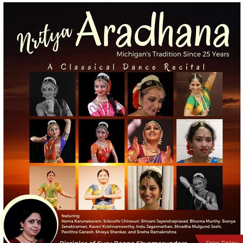 Nritya Aradhana : A Classical Dance Recital by Students of Guru Roopa Shyamsundara