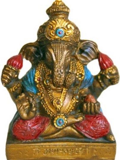 "2.0"" Bronze Ganesha"