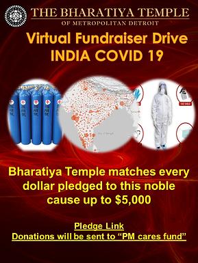 India COVID 19 Pledge Donation x $1 increments
