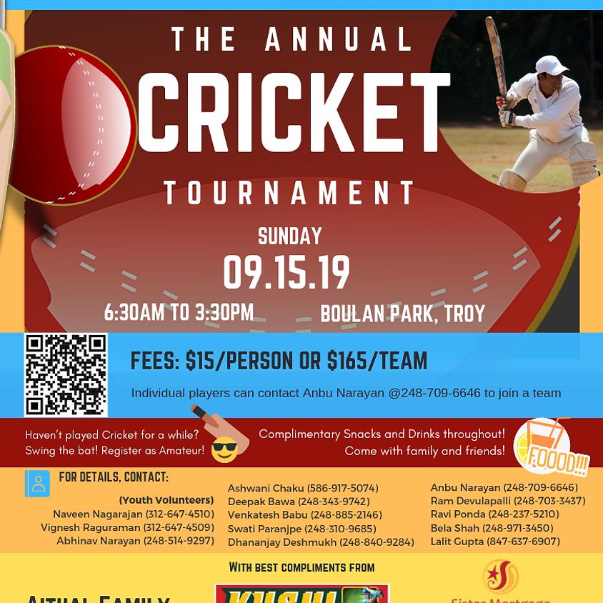 2019  Cricket Tournament