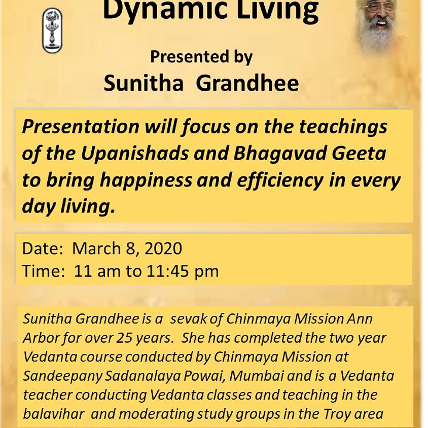 Dynamic Living - Sunitha Grandhee