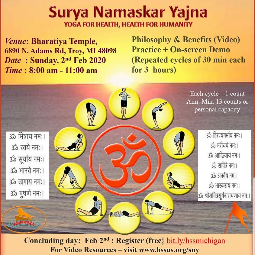 Surya Namaskara Yajna
