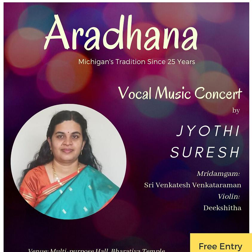 Aradhana Vocal Music by Jyothi Suresh