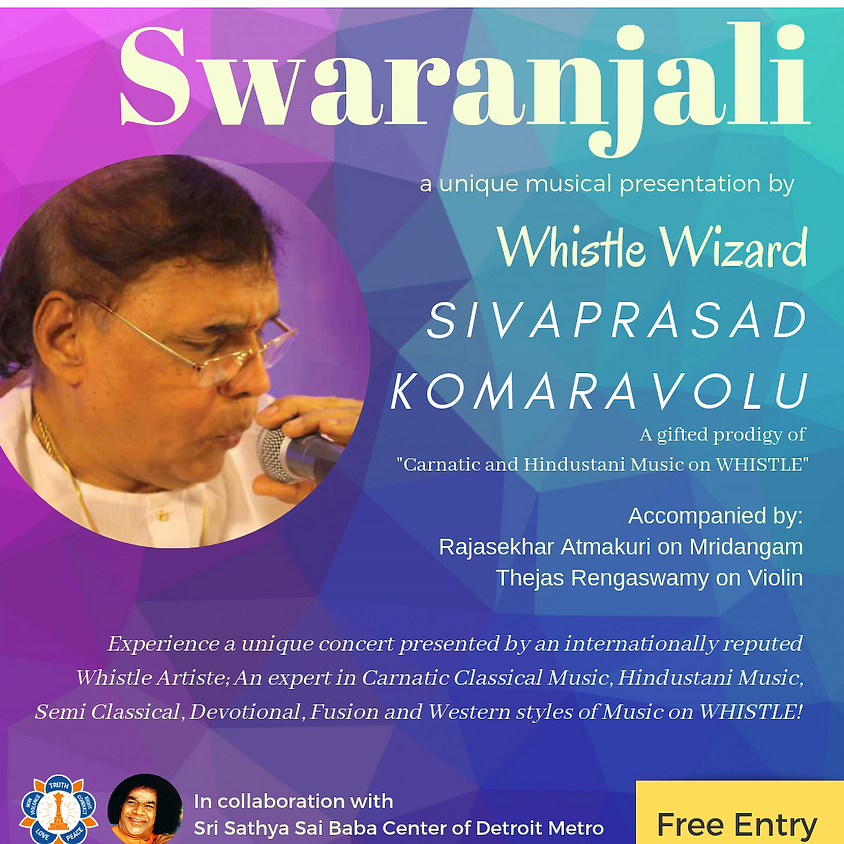 Swaranjali - Whistle Wizard Sivaprasad Komaravolu