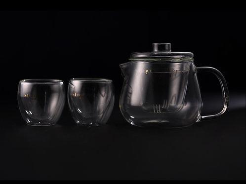 玻璃泡茶壺