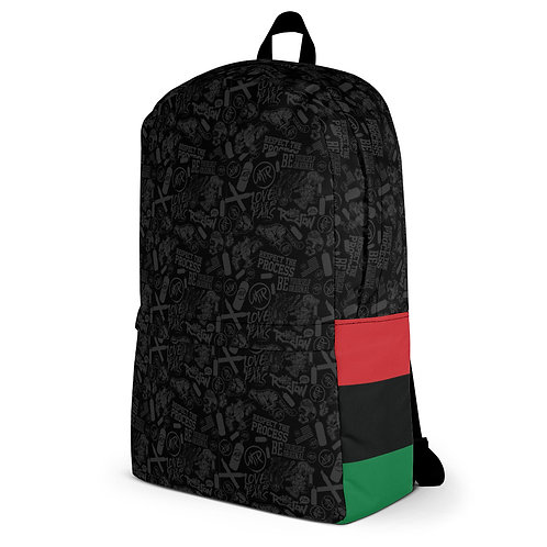 MIP PATTERN Laptop Backpack • Pan African Flag