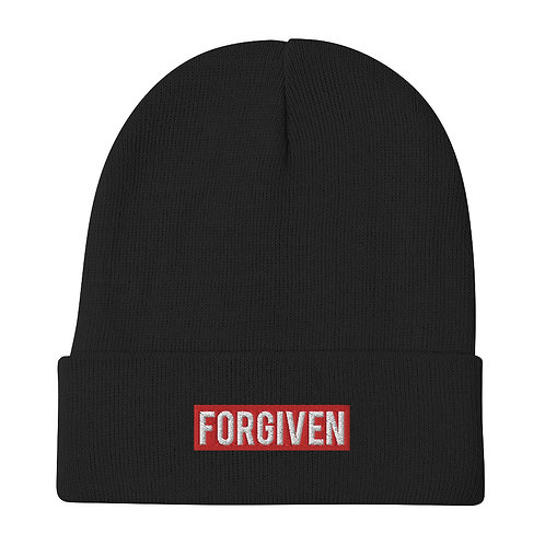 FORGIVEN • Embroidered Beanie