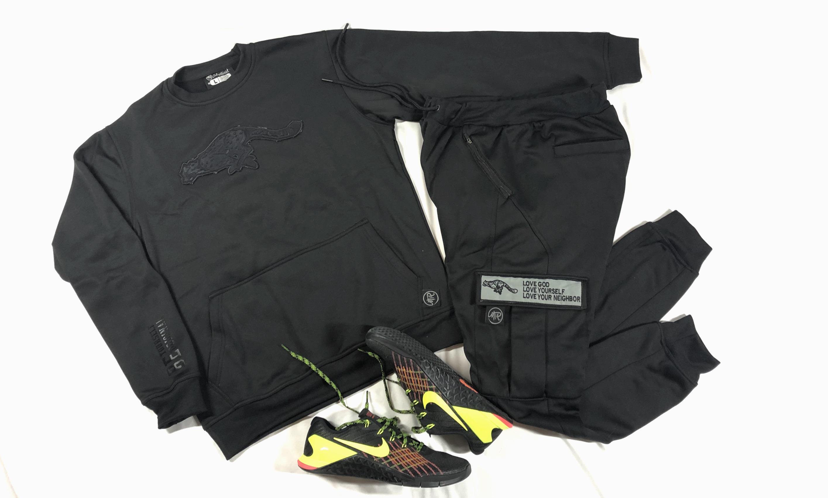 Maxx Stealth Crew Sweatshirt & Jogger