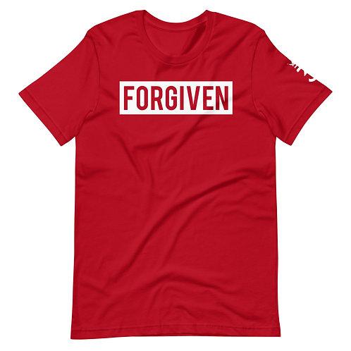 FORGIVEN • White Print • Unisex T-Shirt