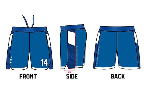 PBS Basketball Shorts • ROYAL BLUE