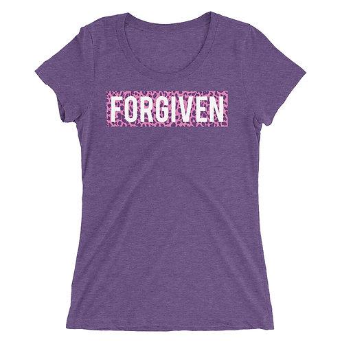 FORGIVEN •Cheetah Print • Ladies' short sleeve t-shirt