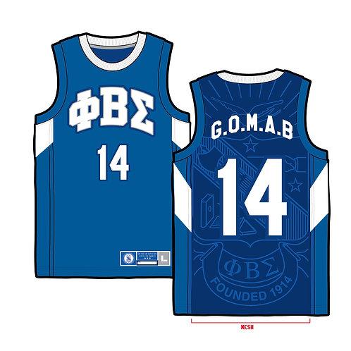 PBS Basketball Jersey • ROYAL BLUE