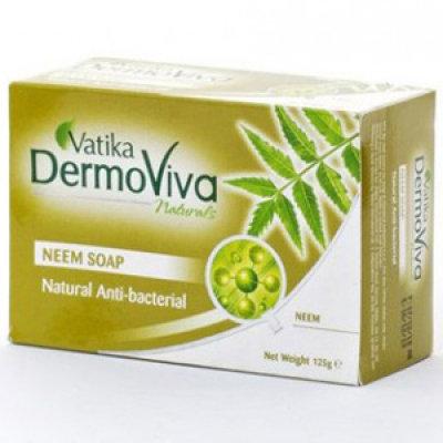 Мыло для проблемной кожи с Нимом Vatika DermoViva 125 г.