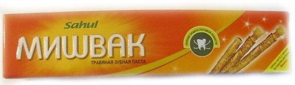 """Зубная паста """"Meswak"""" Sahul 100 г."""