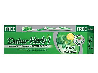 Зубная паста Мята и лимон Dabur 80 г.