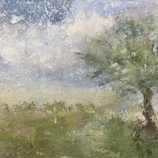"Tree in the Breeze 9x12"""