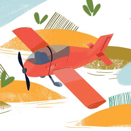 Flight or Fright - detail