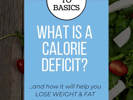 What is a Calorie Deficit?