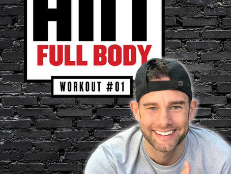 12 Minute Strength Full Body HIIT Workout