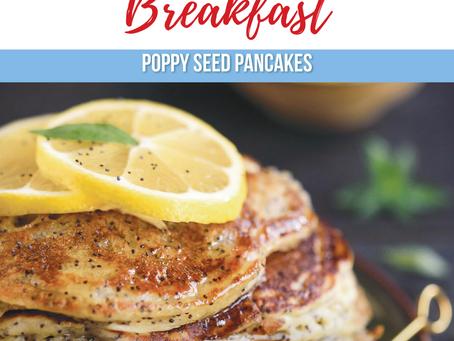 Poppy Seed Pancakes Recipe
