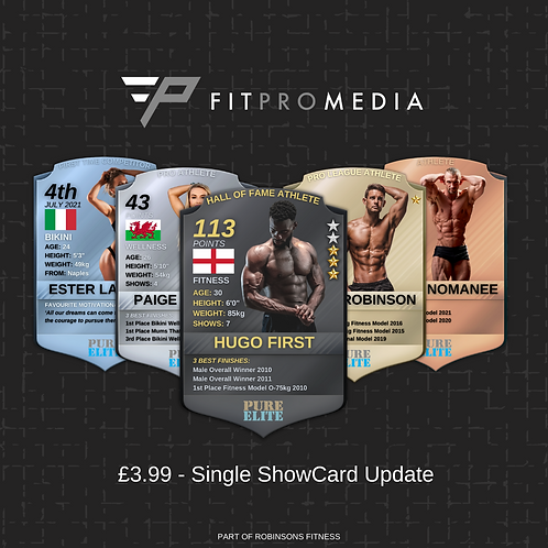 ShowCard Graphic Update