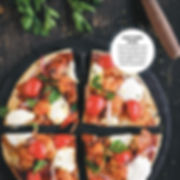 BBQ Tortilla Pizza
