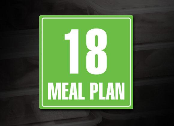 18 Meal Prep Plan