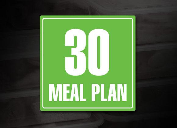 30 Meal Prep Plan